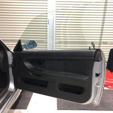 M3C レストア 助手席内張装着