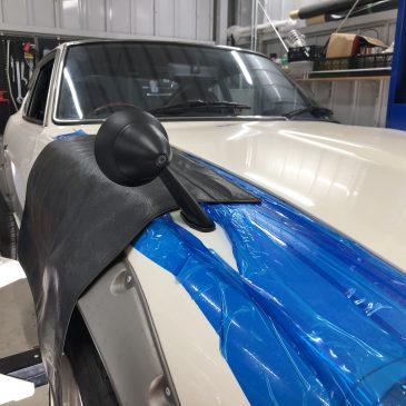 240ZG フェンダーミラー交換